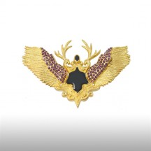 Gold Magnanimous Brooch