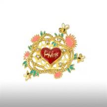 Demetrius's Heart Brooch
