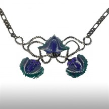 Metalic Felicitous Peacock Necklace