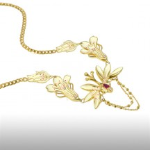 Gold Titania Necklace