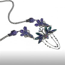 Violet Titania Necklace
