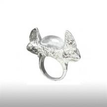 Crystal Parlous Chameleon Ring