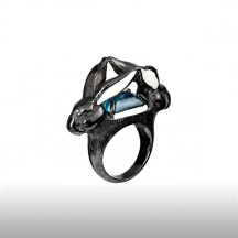 Azur Robin Goodfellow Ring